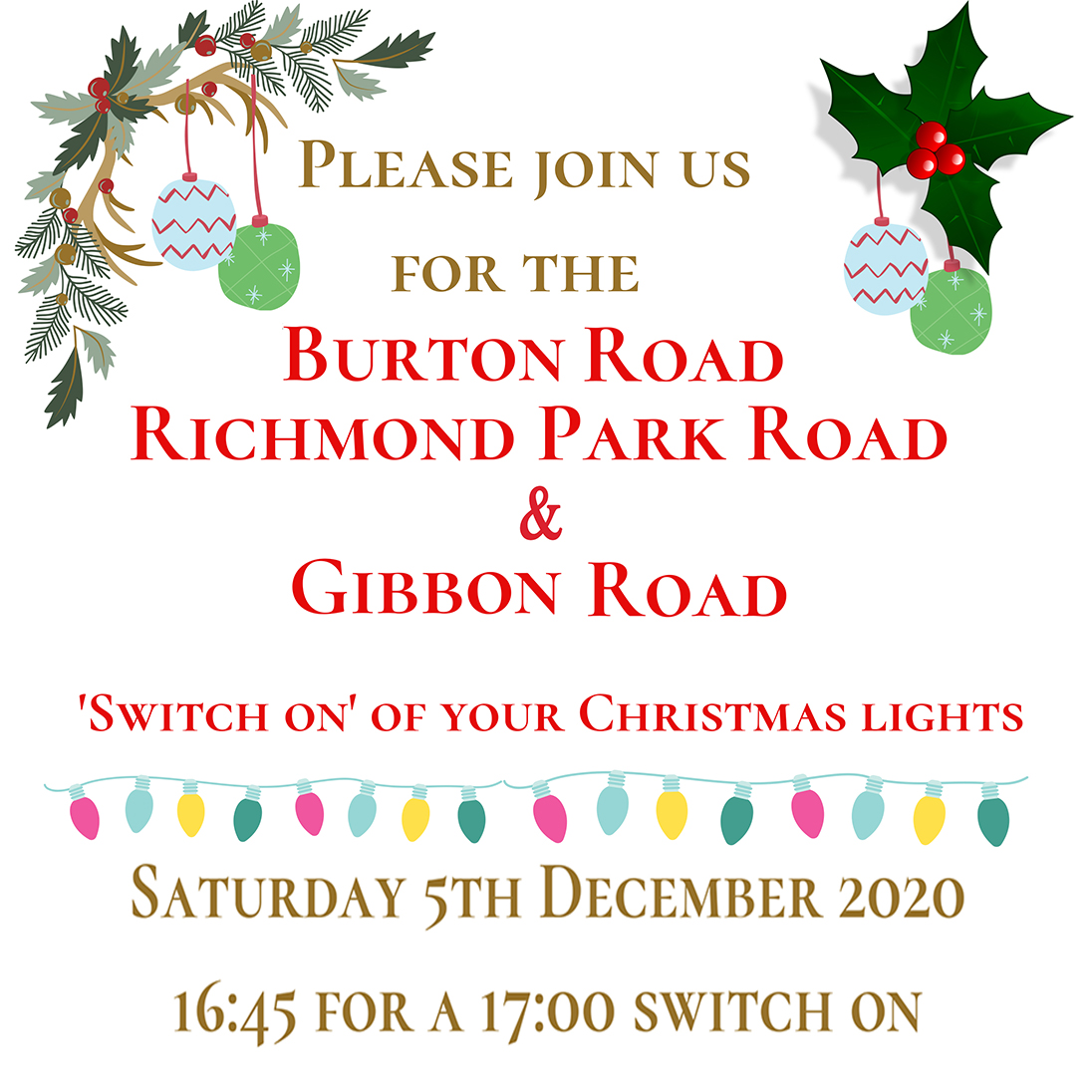 Switch on Your Christmas Lights